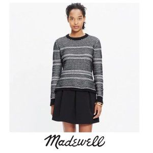 Madewell | Fineprint Pullover Sweater